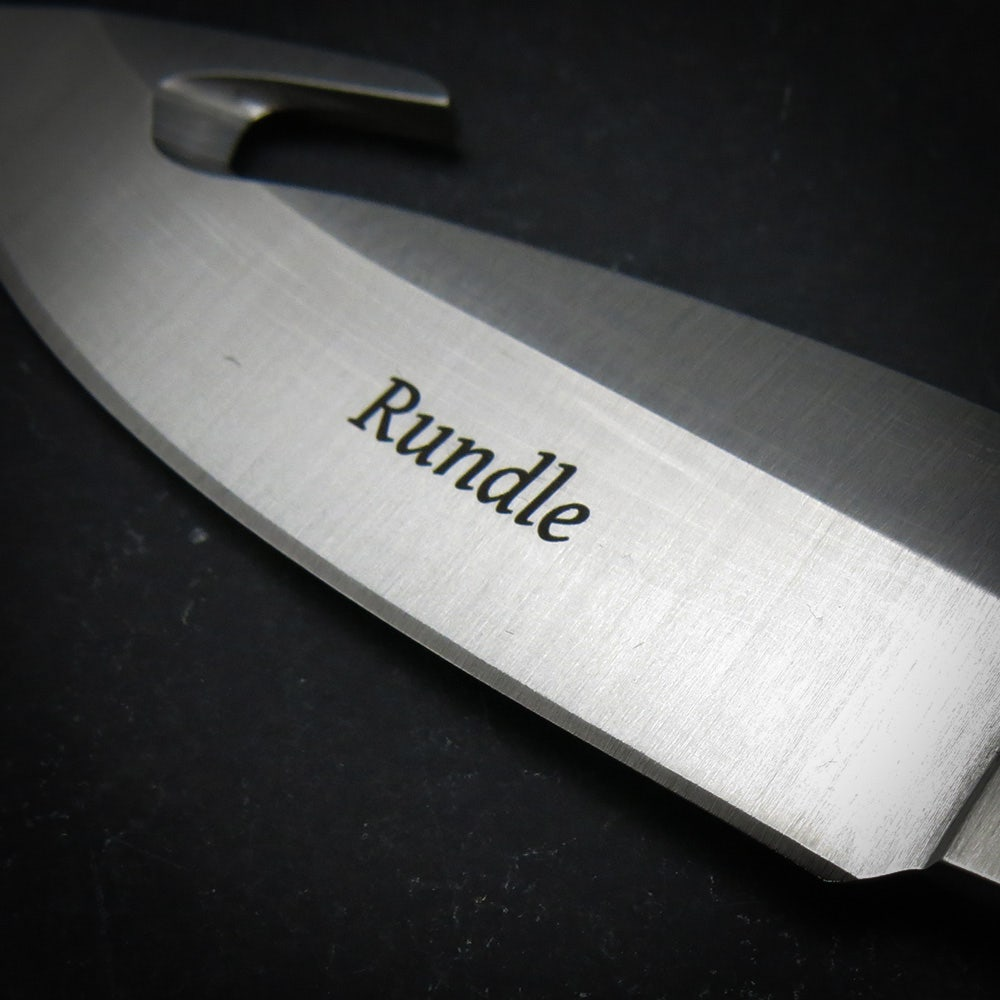 191 Zipper Knife - Heritage Walnut